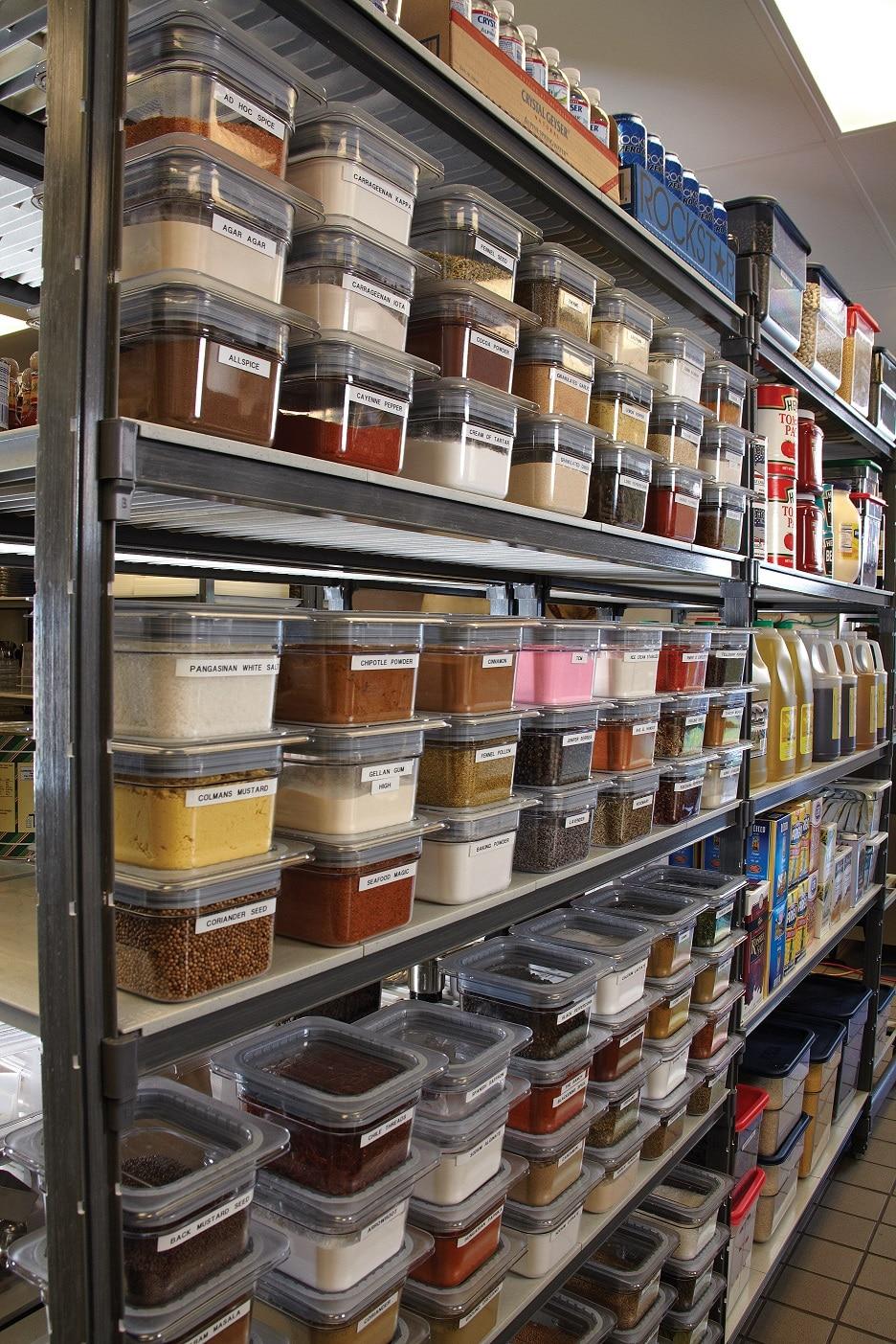 Cambro Dry Storage