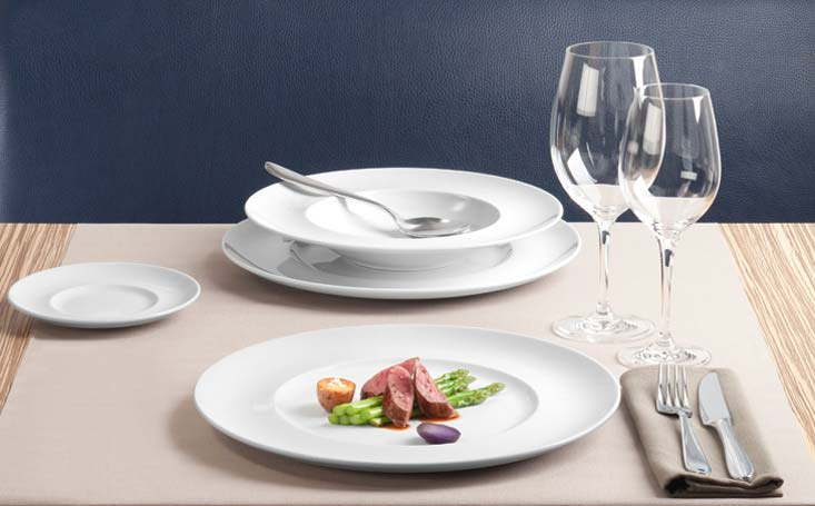 ארגל ציוד למסעדות, כלי שולחן