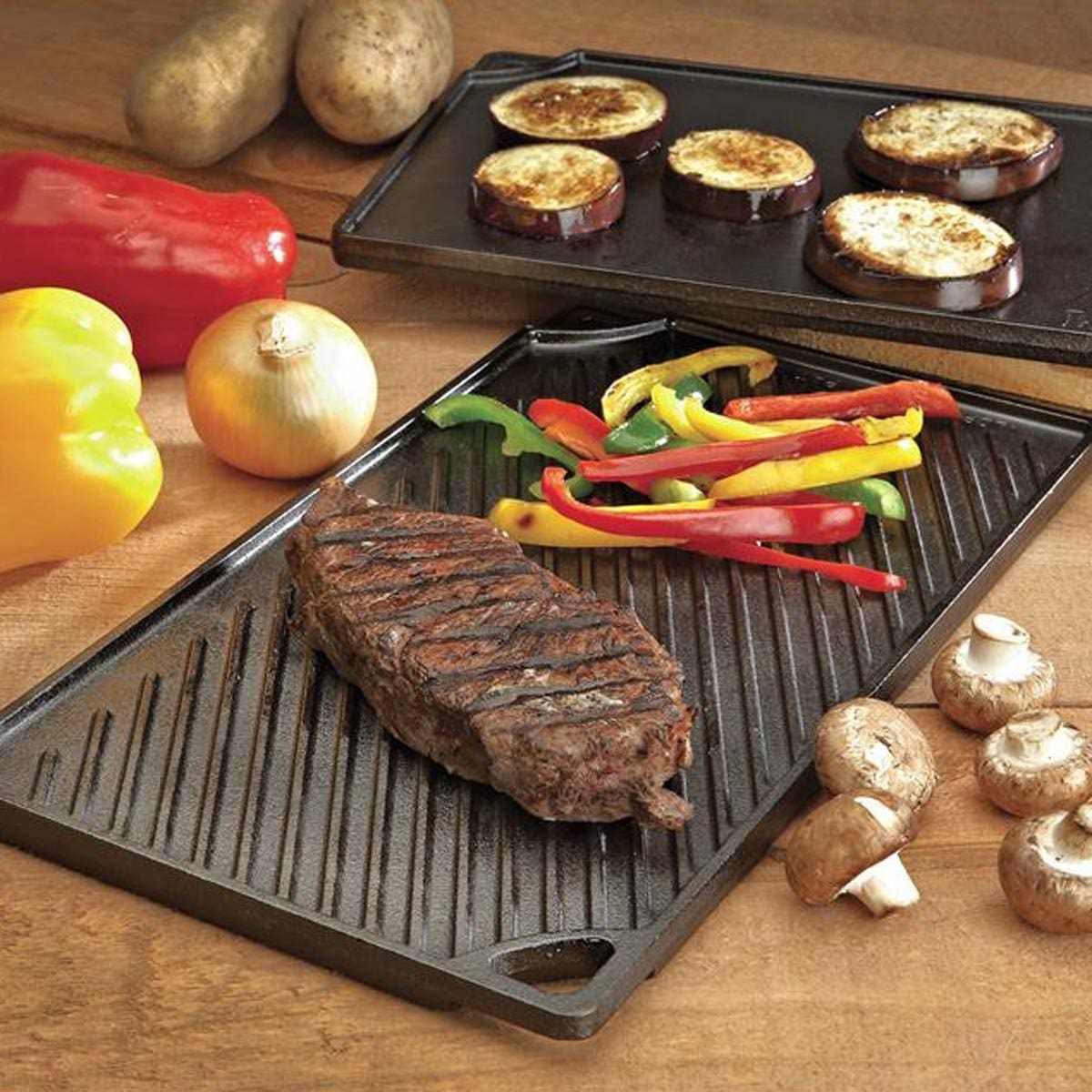 Lodge Cast Iron Grill Pan