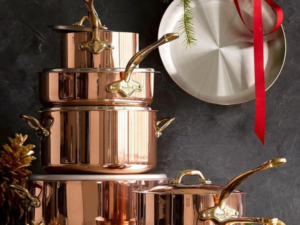 Mauviel  M'150b Copper & Stainless Steel Cookware Set